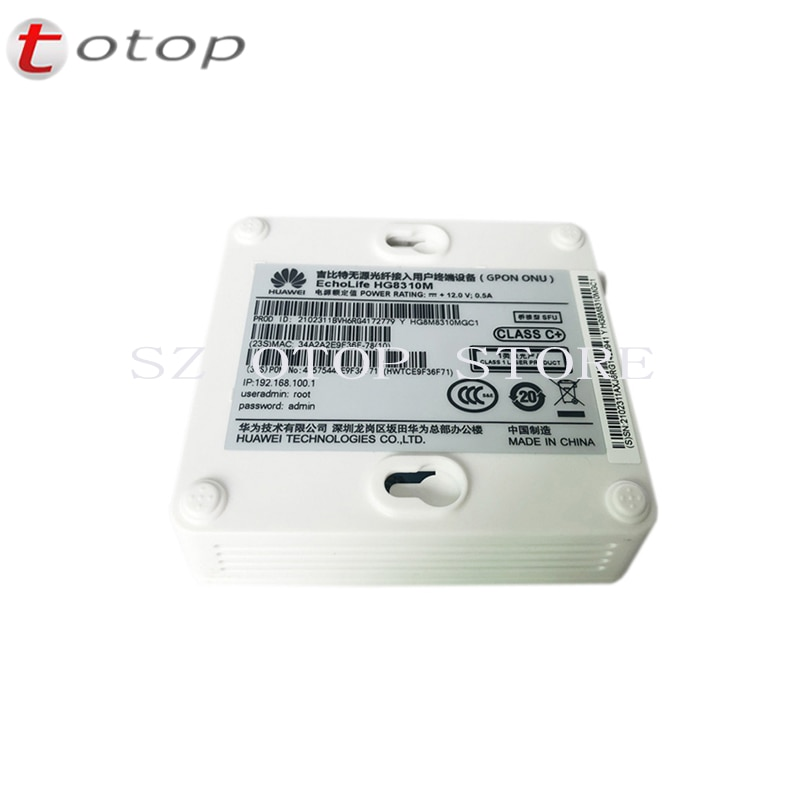 Cheapest 10PCS Huawei HG8310M GPON ONU ONT 1GE FTTH Optical Network Terminal 100% New