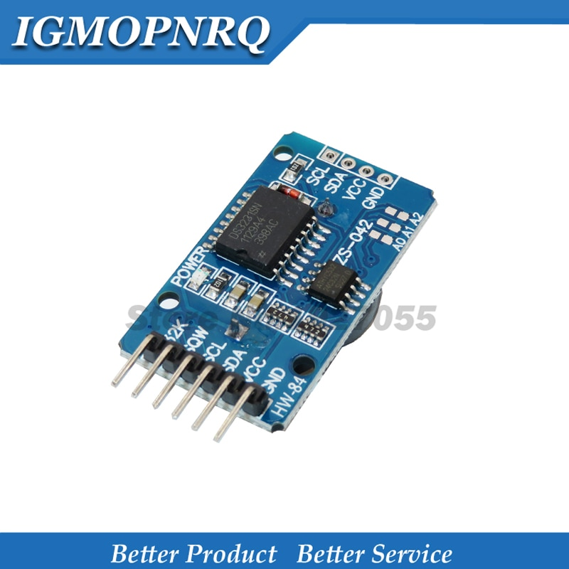 Módulo de reloj IIC 1 Uds DS3231 AT24C32 para el módulo de almacenamiento en tiempo real de precisión RTC