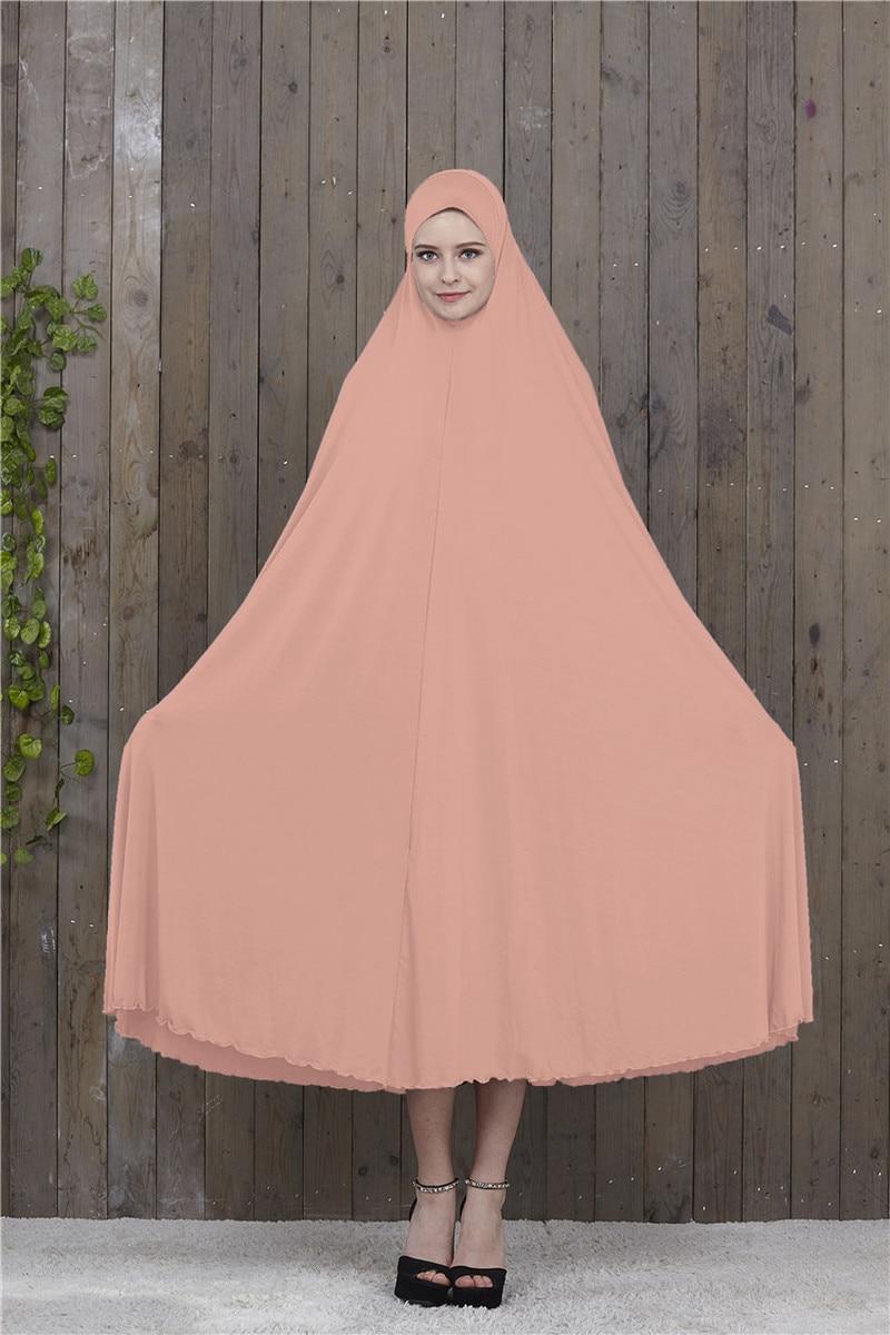 Muslim Prayer Garment Hijab Dress Women Islamic Clothing Thobe Jilbab Burka Dubai Turkey Jurken Abaya niqab long Khimar Kimono