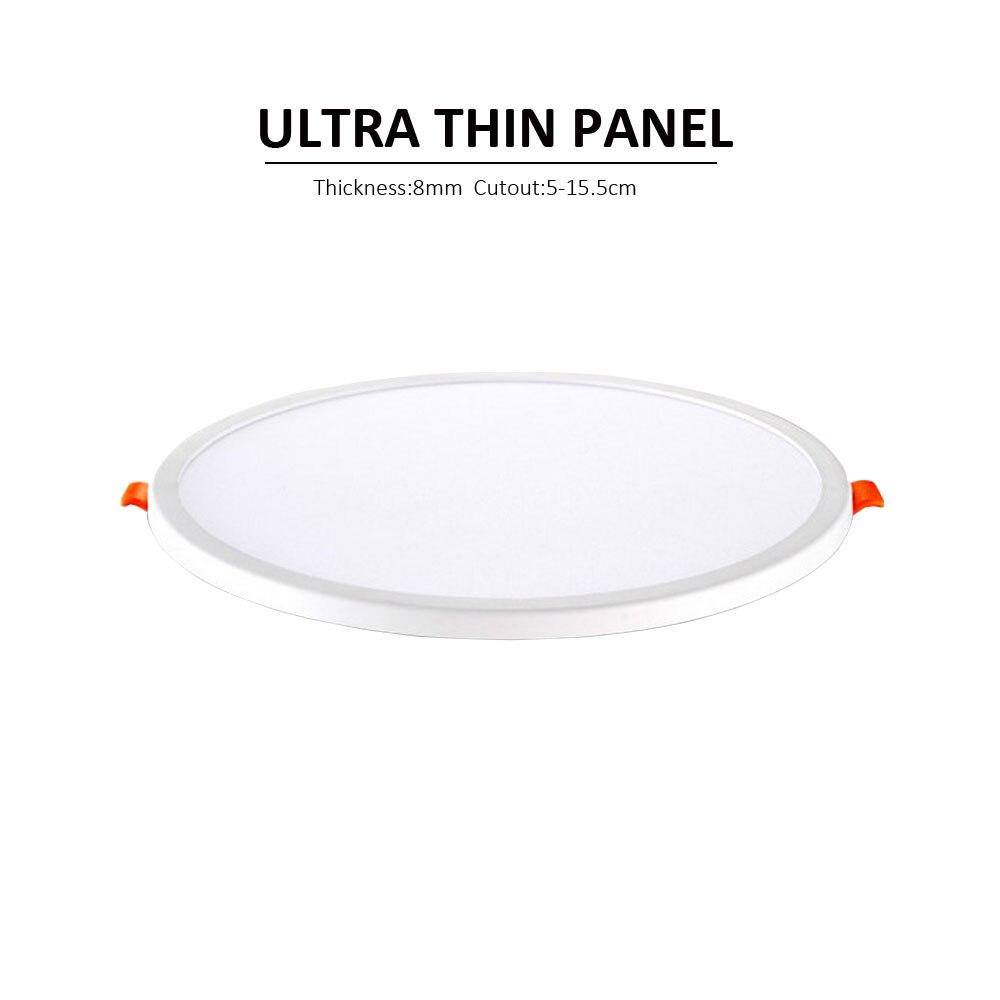 مصباح سقف LED دائري ، إضاءة داخلية ، مصباح سقف ، تصميم نحيف للغاية ، 15 واط ، 6 واط ، 8 واط
