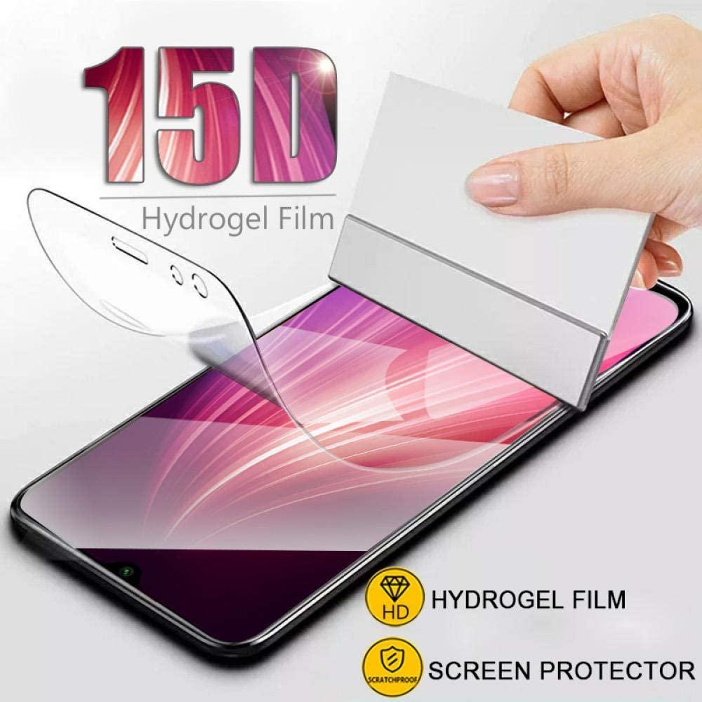 Para Xiaomi Redmi 4X 7A 5A 6A 5 Plus Note 8 4 7 película de hidrogel para Redmi Note 5A Prime vidrio de cubierta completa en Note 6 Pro