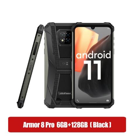 Чехол-накладка Ulefone броня для Huawei Honor 8 Pro Android 11 Helio P60 прочный смартфон 6 ГБ + 128 Гб NFC IP68 Водонепроницаемый смартфон 5580 мА/ч, 4G, LTE, мобильный телеф...