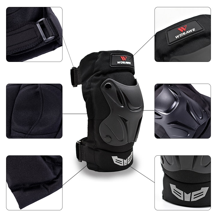 WOSAWE Motorcycle Protective Knee Pad Elbow Pad moto Off-road Motocross Protection Gear Body Guard Bicycle mtb Protector enlarge