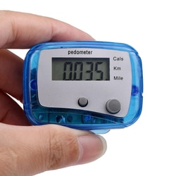 1 ЖК-шагомер счетчик калорий для ходьбы спортивное оборудование с двойными клавишами инструмент для тренировки здоровья