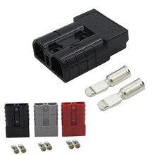 25 # 50amp Andersons Style prise 12v 24v chargeur de voiture batterie connecteur dalimentation cc chargeur Portable résistance à haute température