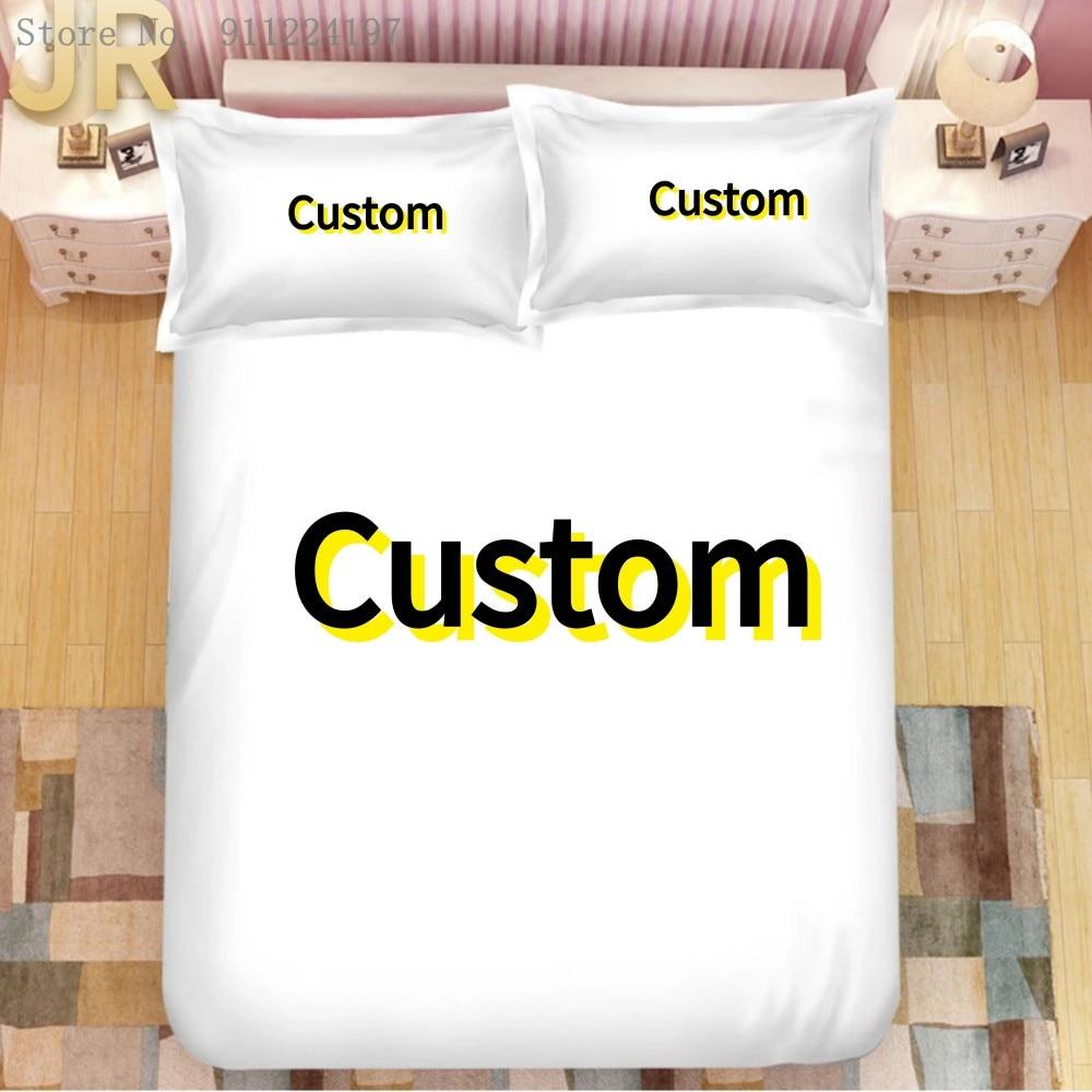 Interesting Creative Customized Custom Design Custom Image 3d Bedding Set 2/3PCS Duvet Cover Set Digital Printing Dropshipping