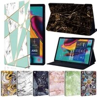 for samsung galaxy tab a 9 710 110 5 leather smart stand tablet cover for tab e 9 6tab s5es6 lite 10 4p610 p615tab a 8 0