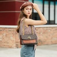 MKJ Luxury organ bag fashion trend ins chain envelope bag simple messenger small square bag