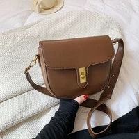 olid color flap square crossbody bags for women pu leather trendy wide strap designer handbags ladies luxury small shoulder bag