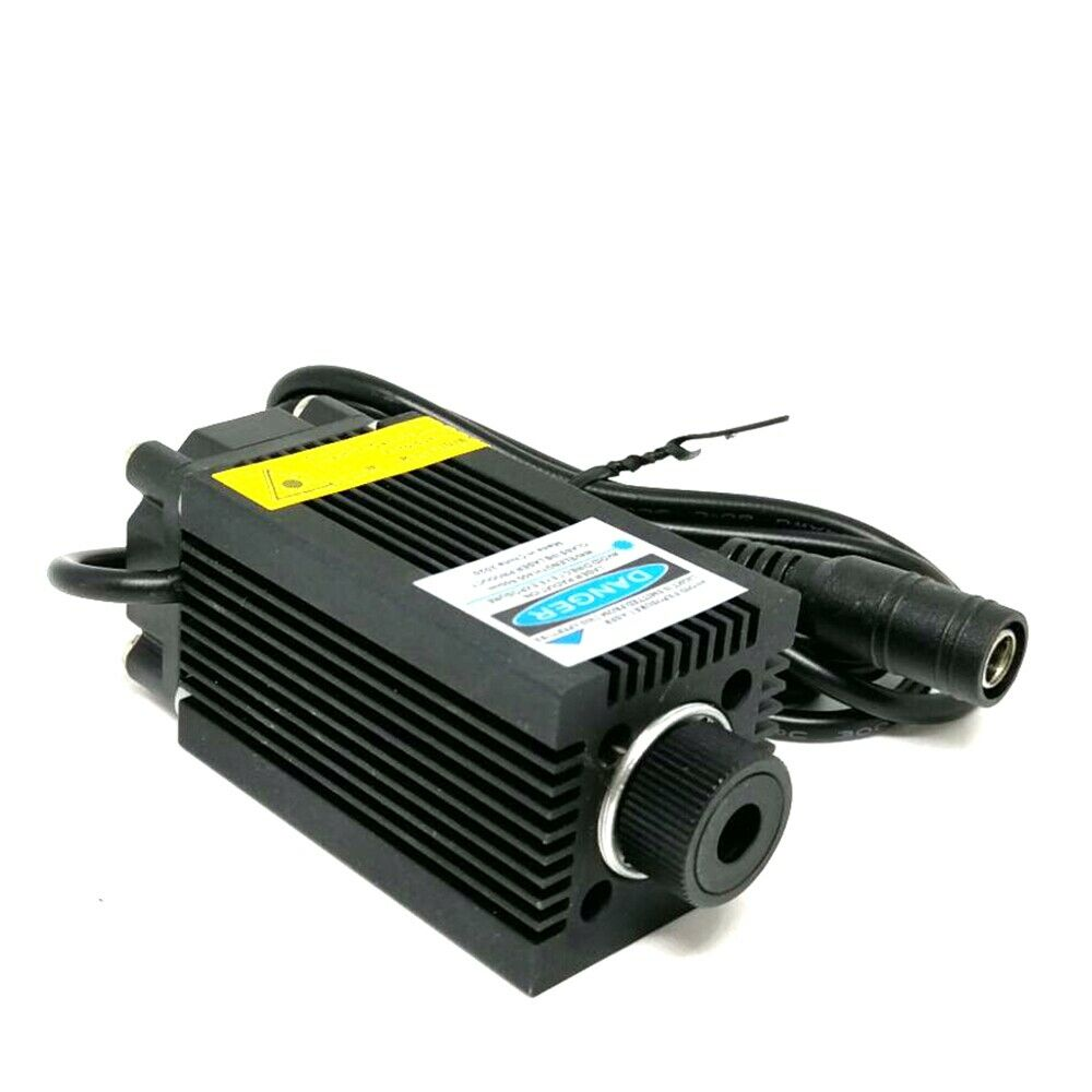 Высокая мощность фокусируемая 405 нм 500 мВт фиолетовый синий лазер локатор модуль w точка головка 12 В адаптер США% 2FEU% 2FUK