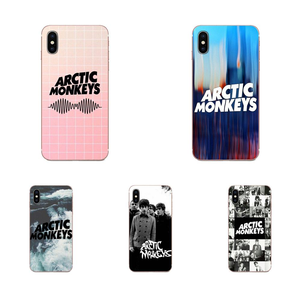 Para Huawei Mate 9 10 20 P P8 P9 P10 P20 P30 P40 Lite Pro Smart 2017 cubierta del teléfono de silicona Ártico monos