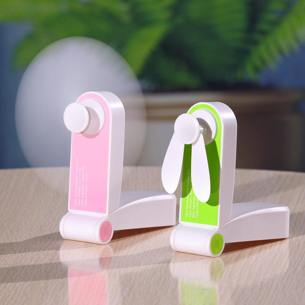 Портативный мини вентилятор, Портативные персональные USB перезаряжаемые вентиляторы, карманный складной Регулируемый Вентилятор скорости ветра для дома, офиса, путешествий Вентиляторы      АлиЭкспресс