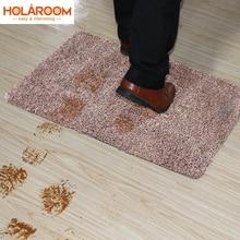 Paillasson dintérieur en coton antidérapant   Absorbant Super, support en PVC, tapis de porte pour petite porte frontale, tapis dentrée à lintérieur du sol