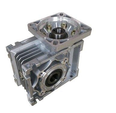 5: 1-100: 1 wurm minderer NMRV040 14mm Eingang welle rv040 wurm getriebe minderer Geschwindigkeit minderer für Nema 34 Platz flansch motor
