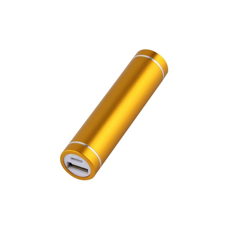 Разноцветный внешний аккумулятор USB 5 В, чехол, комплект 1X 18650, зарядное устройство для аккумулятора, «сделай сам» для сотового телефона