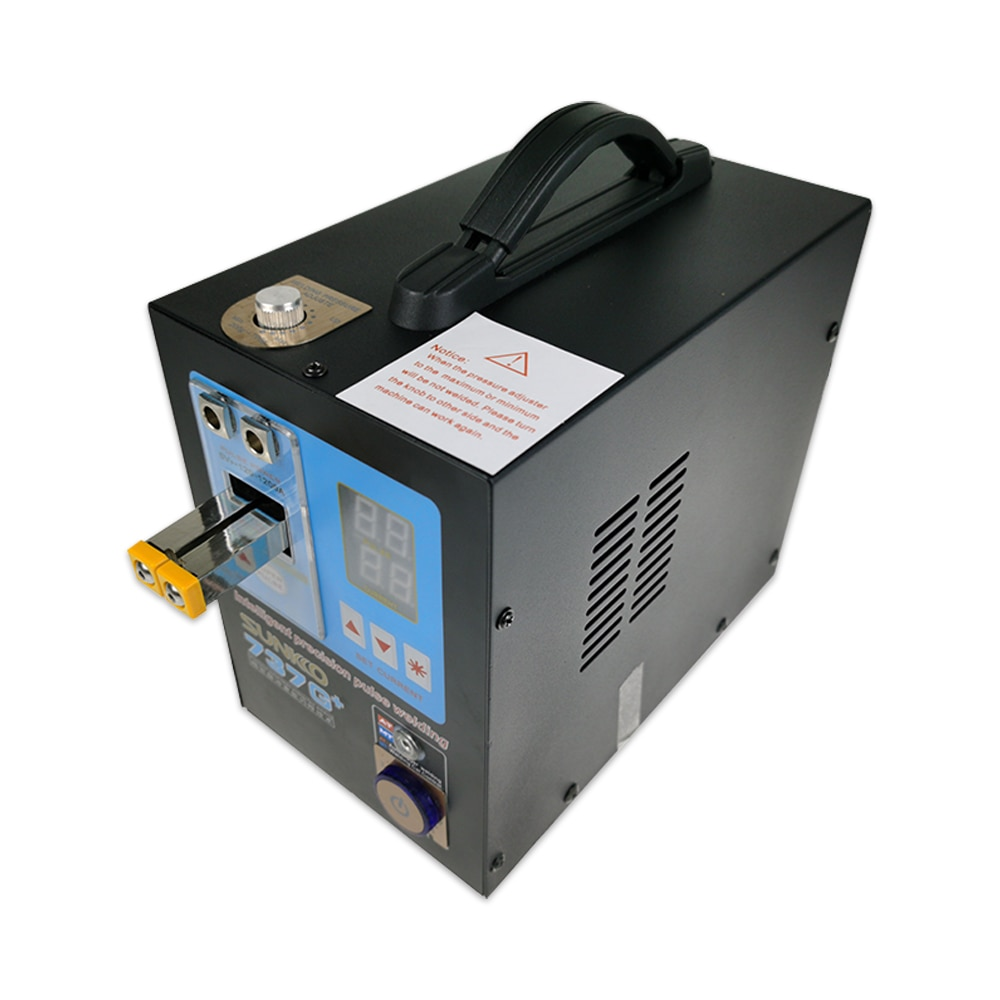 Spot Welding Machine 4.3KW High Power Automatic Pulse Welding Large Battery Pack Handheld Dual-function Battery SUNKKO 737G+ enlarge
