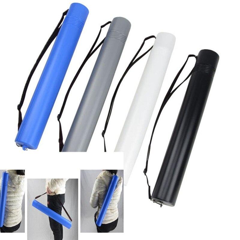 Tubo de papel telescópico ajustable para arte de dibujo, póster, tubo de pintura, soporte de desplazamiento, flecha, aljaba, tubo, herramienta de papelería para artistas