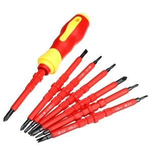 8pcs Electronic Insulated Hand Screwdriver Tools Accessory Set