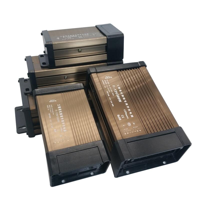5V 24V 12V Power Supply AC DC Led Driver 5 12 24 V Volt 5A 8A 10A 15A 20A Transformer 220V TO 12V Power Supply Outdoor Rainproof недорого