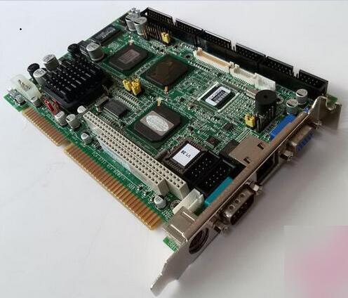 Neue Fanless Marke PCA-6751 B202-1 ISA Industrie PC Mainboard Half-Size CPU Karte PICMG1.0 Mit CPU RAM Lan PC104