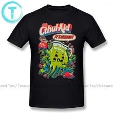 Cthulhu T-Shirt dessin animé imprimé CTHUL AID T-Shirt coton à manches courtes T-Shirt mâle mignon grande taille imprimé plage T-Shirt