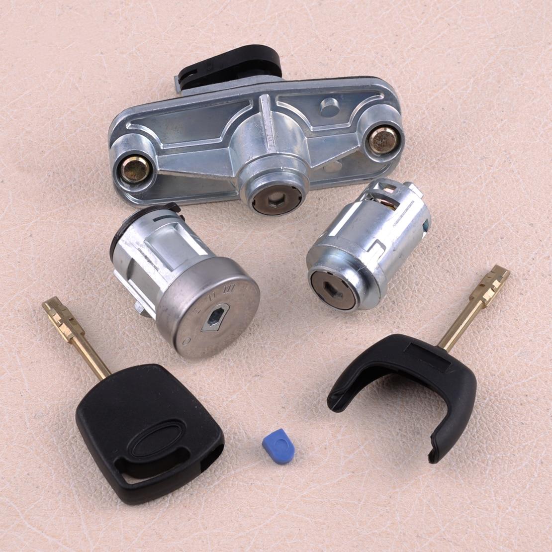 Door Ignition Barrel Petrol Cap & Boot Lock Set Fit For Ford Mondeo MK3 2000 2001 2002 2003 2004 2005 2006 2007
