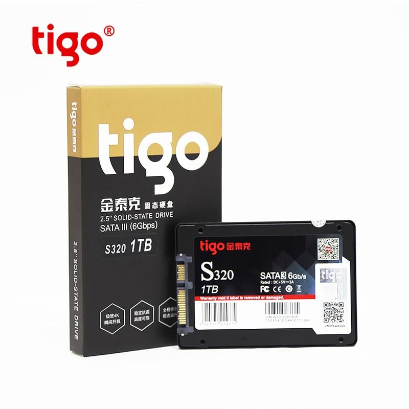 Tigo SSD 1TB 512GB 128GB 256GB SATA Drive de Estado Sólido Interno para Desktop PC Portátil