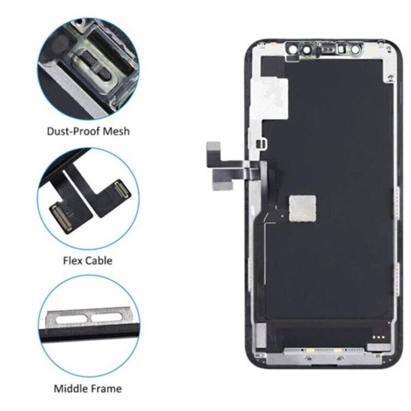 TEDSZU Grade AAA For iphone 11 Pro Max LCD With 3D Touch Digitizer Assembly 11 Pro Max Screen Replacement Display INCELL enlarge