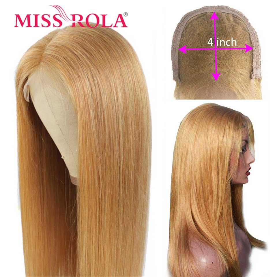 Miss Rola-شعر مستعار لإغلاق الدانتيل 100% شعر مستعار طبيعي ناعم ، 4*4 ، أحمر ، بورجوندي ، أشقر ، 99J ، برتقالي ، شعر ريمي ، منتف مسبقًا