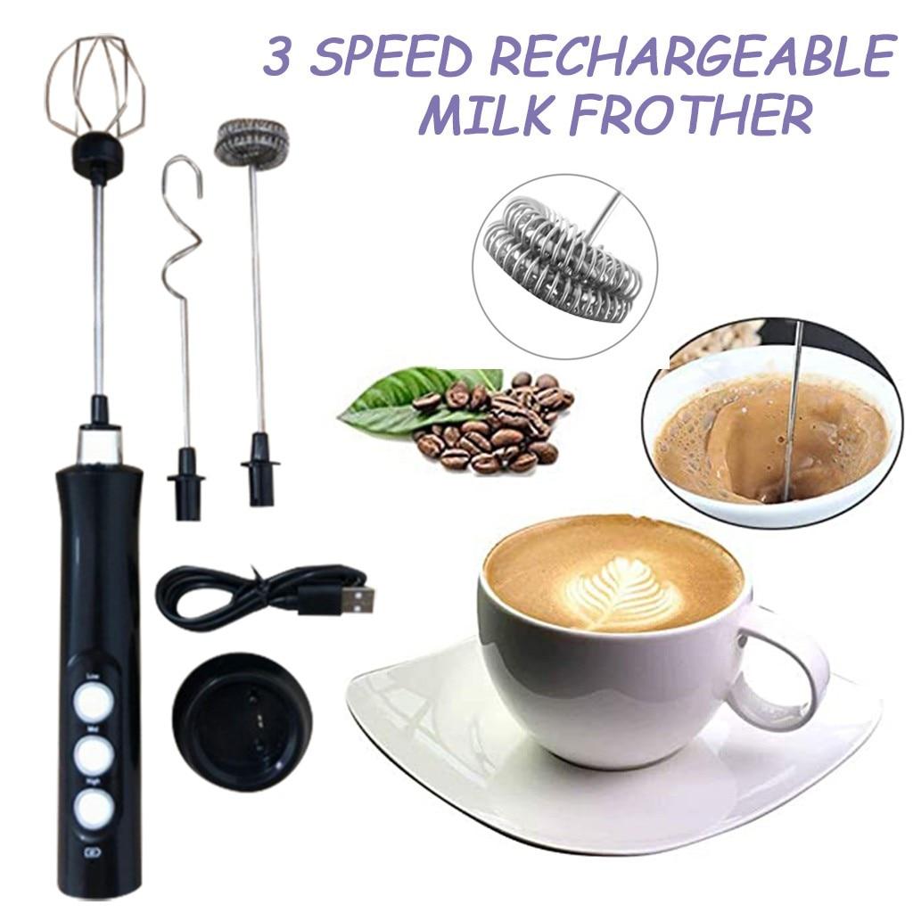 Mini batidora eléctrica portátil de huevos, crema, café, pastel, pintura, mezclador doméstico, herramientas para huevos