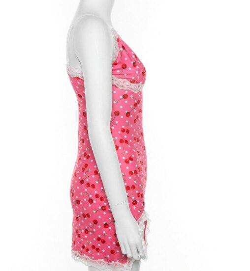 2020 verano Chicas lindas Rosa encaje hasta bodycon mini Vestidos Mujer moda casual fiesta estampado salvaje cortas básicas vestido S-L