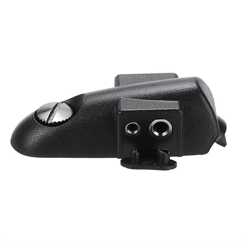 Apropriado para plugues moldados padrão 2 pinos para baofeng 9700 a58 uv9r motorola gp ht mtx peças walkie talkie adaptador acessórios