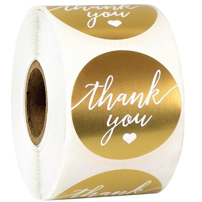 pegatinas-de-agradecimiento-redondas-doradas-de-15-pulgadas-pegatinas-de-articulos-de-papeleria-impermeables-papel-de-aluminio-dorado-coreano-pegatina-de-sellado