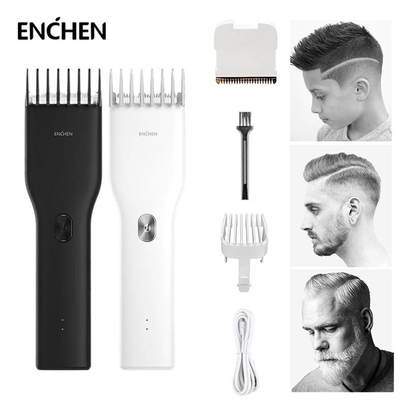 ENCHEN الرجال مقص الشعر الكهربائية USB شحن سريع المهنية الشعر المتقلب طويل تشغيل آلة حلاقة الكبار الحلاقة