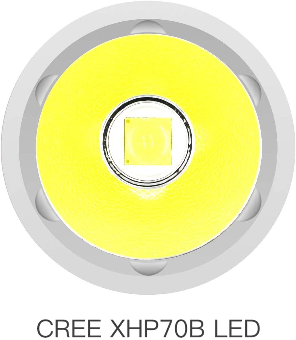 ThruNite TC20 3800 high lumens Tactical Flashlight 5000mah USB Rechargeable LED Handheld Flashlight CREE XHP70B LED Original enlarge