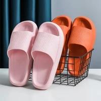 indoor bathroom slippers women thick non slip home interior anti slip deodorant slides men ladys heighten soft shoes sandals
