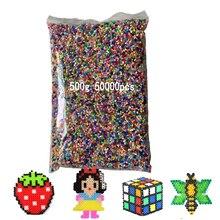 500g 2.6mm Mini hama perles pyssla perles de fer pour enfants Hama perles 3d puzzle jouets créatifs à la main cadeau jouets