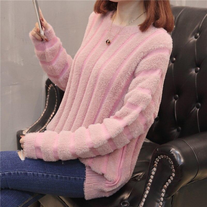9026 película y cuello redondo maomao camisa de punto Vestido de manga larga 69-6 fila 1 estantes en el segundo piso