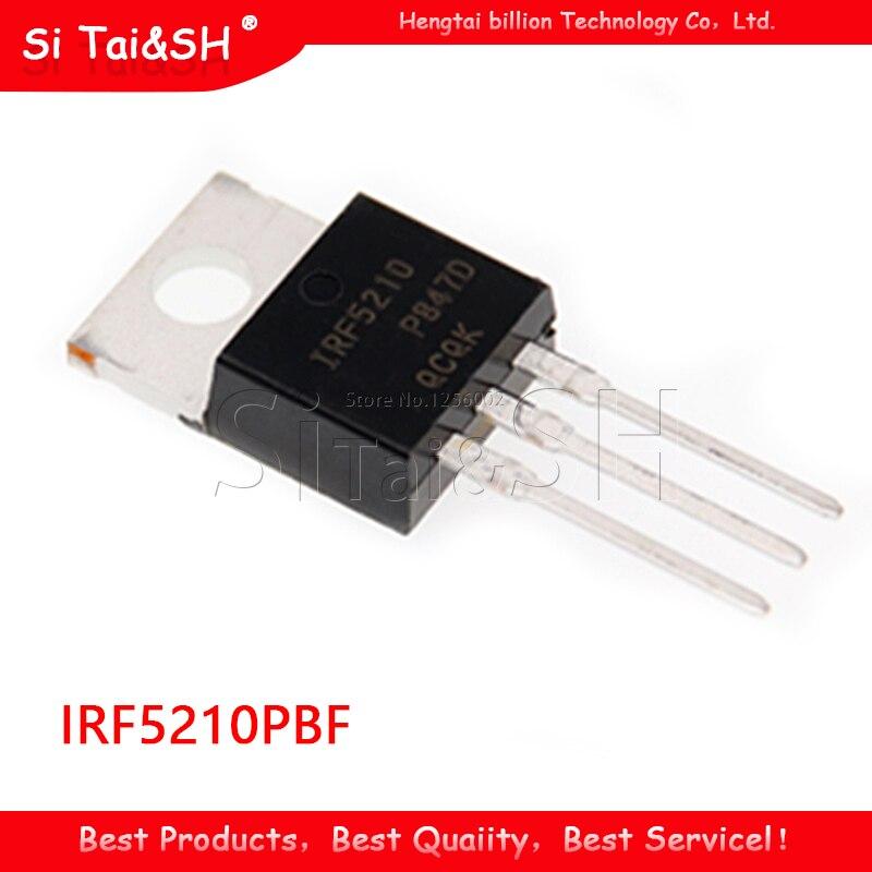 5 uds IRF5210PBF IRF5210 P-220 100V 40A de circuito integrado