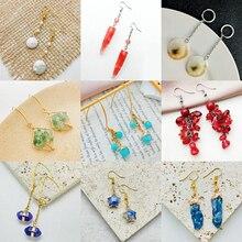 Natural Stone Pearl Shell Earrings for Women Korean Fashion Mixed Earrings Sweet Girl Jewelry Birthd