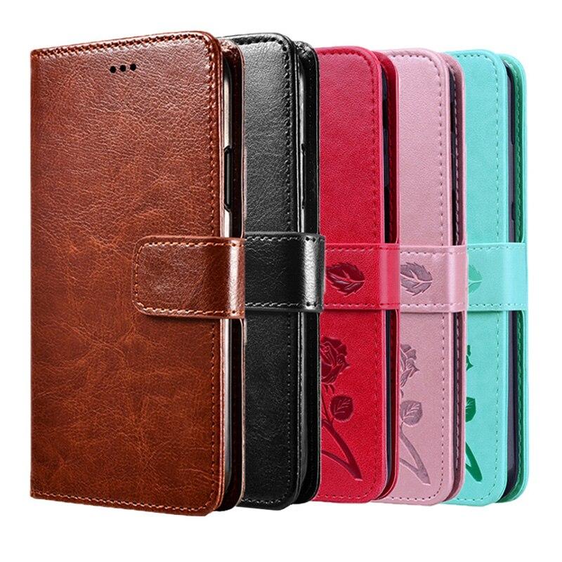 Funda de cuero de lujo tipo billetera para Samsung Galaxy Grand Duos...