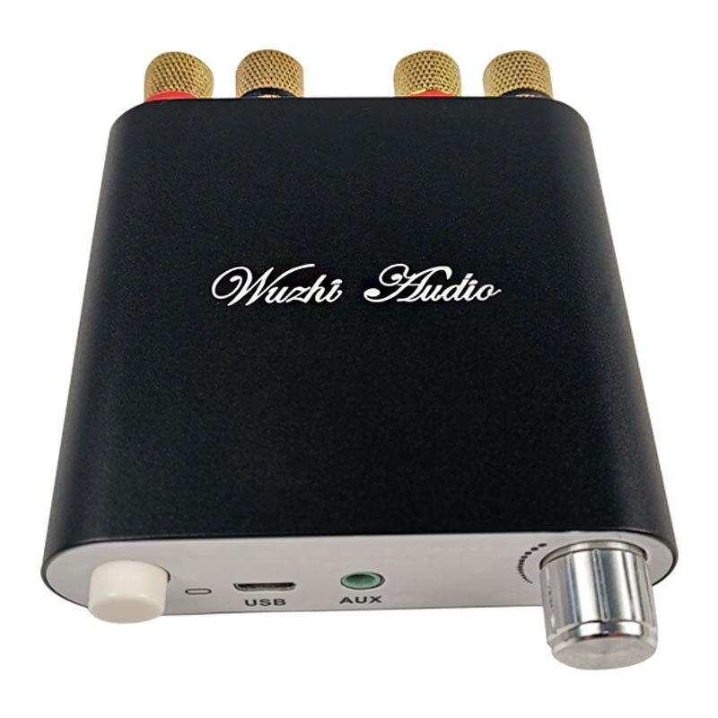Amplificador DE POTENCIA de Audio estéreo inalámbrico TPA3116D2 100Wx2 Bluetooth 5,0 Amplificador de coche Amplificador Home Theater ZK-1002D