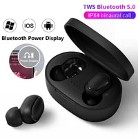 tws bluetooth 5 0 waterproof rechargeable wireless stereo earphones sport earbuds with charging case