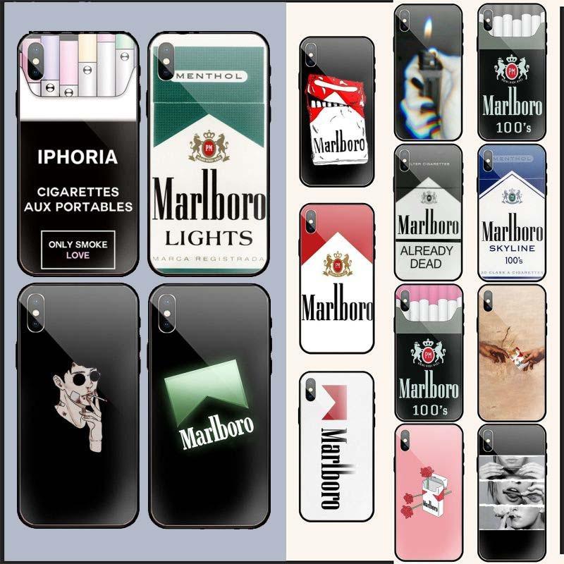 Funda protectora para teléfono con cigarrillo de hierba para iPhone 11 pro XS MAX 8 7 6 6S Plus X 5 5S SE XR