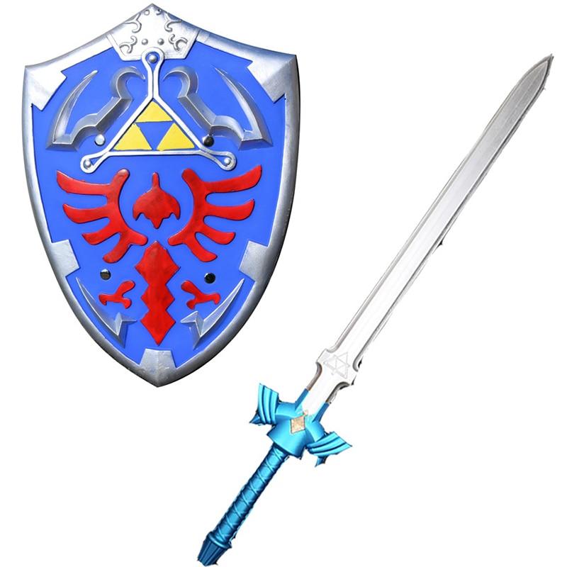 Zelda legend COS Link Sky Shield and Sky Sword 1:1 игрушка для косплея