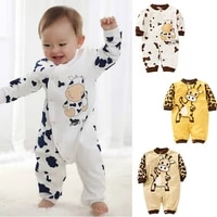 0 24 month cute cow romper newborn girls boys clothes baby outfit infant romper clothes