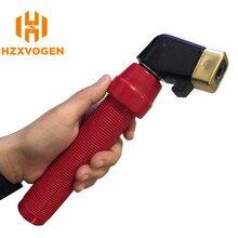 HZXVOGEN-herramientas de mano para soldar, soldador de arco, electrodo de 400A, soporte de soldadura MMA, accesorios para soldar