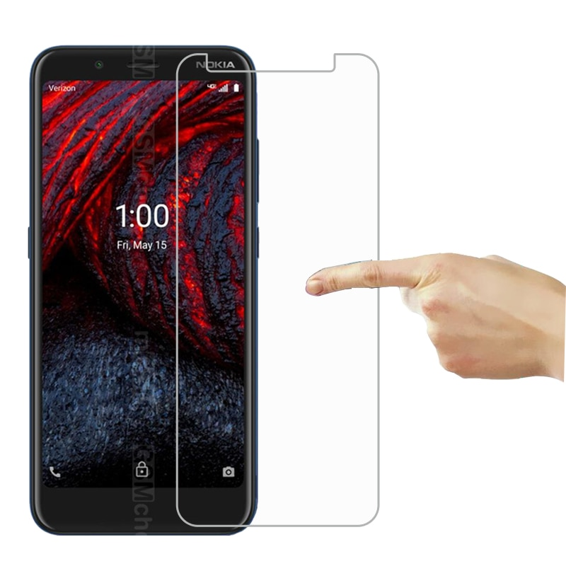Tempered Glass for Nokia 2 V Tella Screen Protector 9D Protective Glass Mobile Phone Film for Nokia