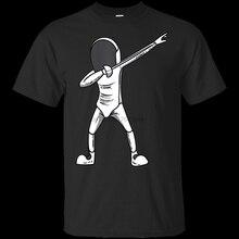Jt t camisa preta para homem feminino engraçado esgrima esportes para homem e mulher