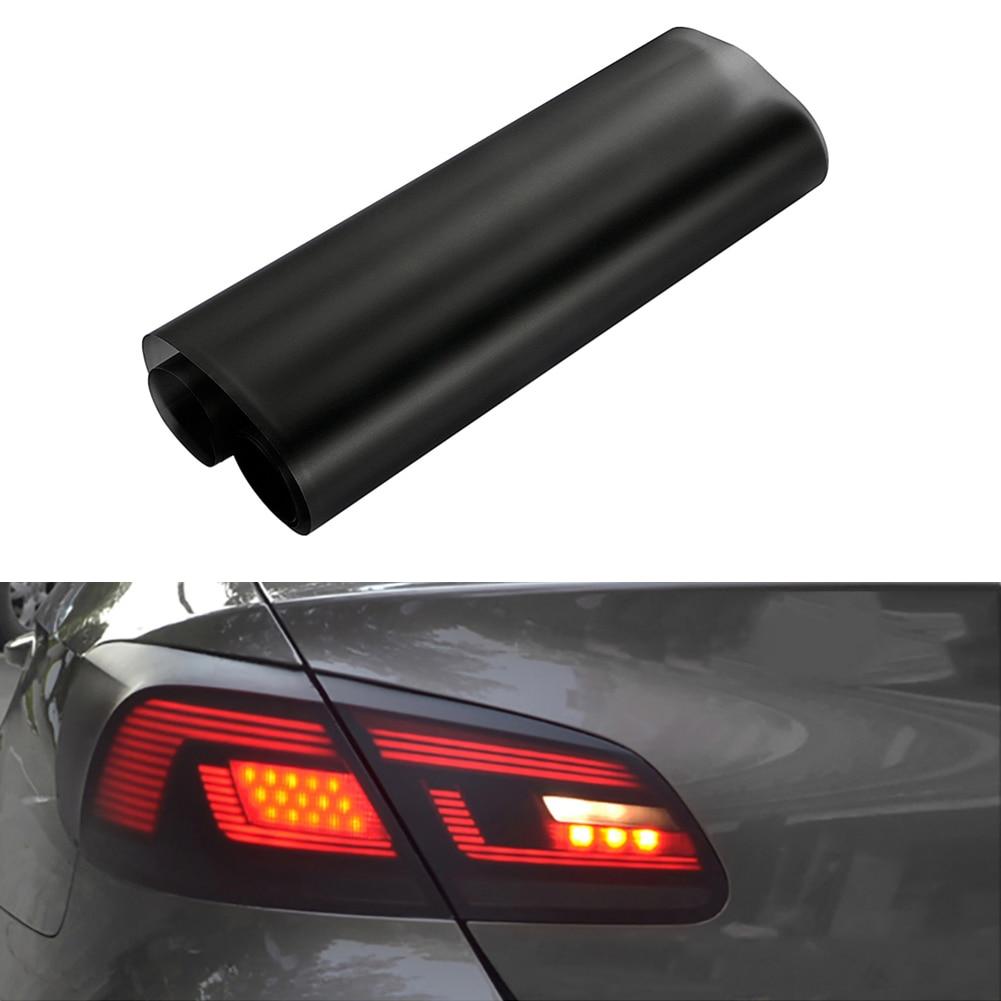 Автомобильная световая пленка 30x150 см, автомобильная матовая черная тонировка, освещение, противотумансветильник фасветильник, виниловая п...